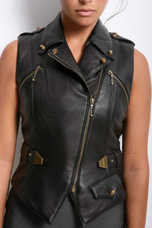 Alexander Wang Leather Vest with Belt