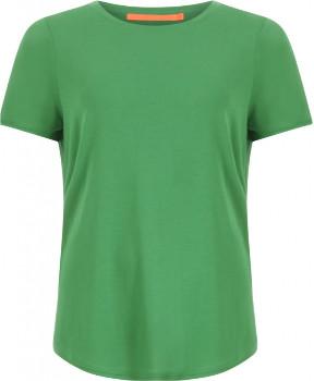 Coster Copenhagen - CC Heart Tencel T-Shirt - Emerald Green - Size S (UK 10)