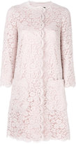 Dolce & Gabbana lace coat - women - Silk/Cotton/Polyamide/Viscose - 42