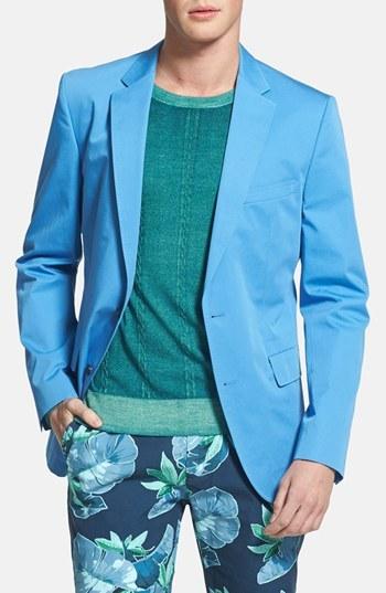 HUGO BOSS 'Noris' Trim Fit Cotton Sportcoat