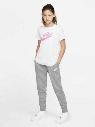 Nike Kids NSW PE Pants - Grey/White
