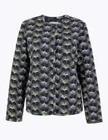 Per Una UsMarks and Spencer Printed Short Jacket