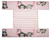 Bedtime Originals Crib Bumper, Pinkie by