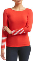Sportscraft Magic Tee Stripe Long Sleeve