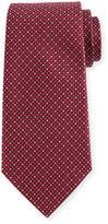 Armani Collezioni Woven Neat Silk Tie