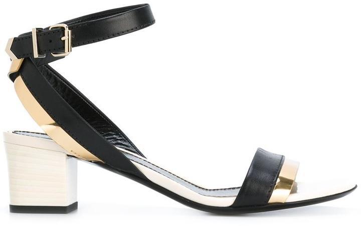 Lanvin block heel sandals