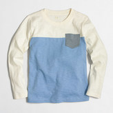 J.Crew Factory Boys' long-sleeve colorblock T-shirt