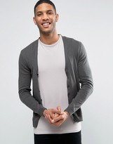 Asos Cardigan in Khaki Twist