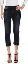Marcelo Burlon County of Milan Denim capris - Item 42614736