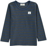Acne Studios Striped Mini Tage Patch T-Shirt