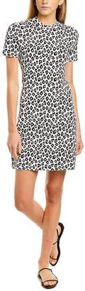 Theory Leopard A-Line Dress