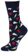 Happy Socks Storm Crew Socks