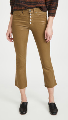 Veronica Beard Jeans Carolyn Coated Jeans