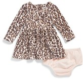 Splendid Infant Girl's Animal Print Knit Dress