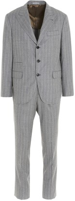 Brunello Cucinelli Pinstriped Suit
