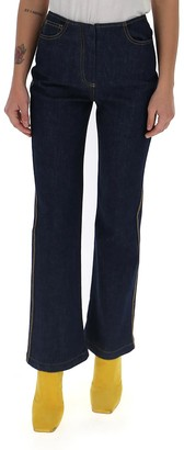 Fendi Logo Detailed Jeans