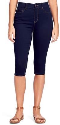 Gloria Vanderbilt Women's Comfort Curvy Skinny Skimmer Capris