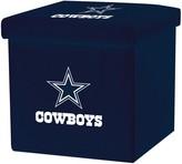 Franklin Sports Dallas Cowboys Storage Ottoman with Detachable Lid