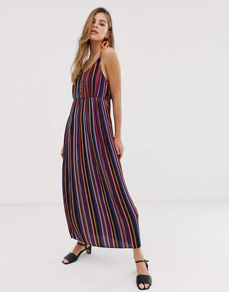 Pimkie maxi dress in stripe print