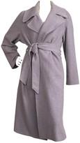 Lauren Ralph Lauren Purple Wool Coat for Women