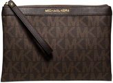 MICHAEL Michael Kors Signature Tech Zip Clutch, a Macy's Exclusive Style