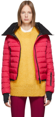 MONCLER GRENOBLE Pink Down Vonne Jacket