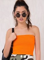 Motel New Women's Tube Rib Knit Top