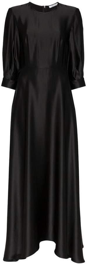 ecfe4ec1e92 Puff Sleeve Evening Dress - ShopStyle