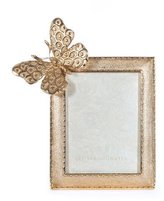 """Jay Strongwater Juno Butterfly Frame, 3"""" x 4"""""""