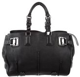 Barbara Bui Leather Buckle-Accented Tote