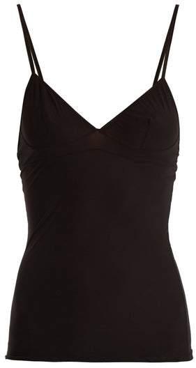 Bodas Sheer Tactel Cami Top - Womens - Black
