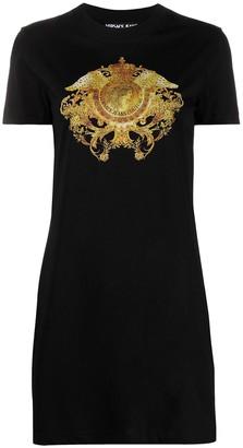 Versace Jeans Couture Baroque-Print T-Shirt Dress