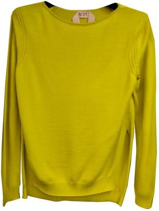 N°21 N21 Yellow Wool Top for Women
