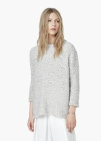Mango Outlet Mohair Wool-Blend Sweater