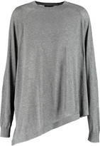 Joseph Asymmetric cotton-jersey sweater