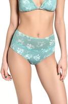 RVCA Women's In Bloom Cheeky High Waist Bikini Bottoms