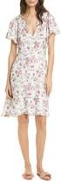 Rebecca Taylor Esmee Floral Print A-Line Dress