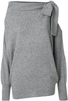Ermanno Scervino cut-detail knitted top - women - Cashmere/Virgin Wool - 38