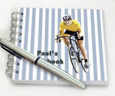 STUDY Amanda Hancocks Personalised Cycling Notebook