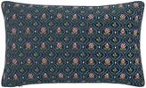 Pip Studio Indian Flower Cushion - 30x50cm - Dark Blue