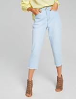 Dotti Fray Straight Crop Jean