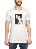 Dolce & Gabbana Marilyn Print Cotton Flax Jersey T-Shirt