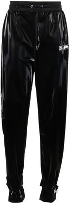 Off-White Black Logo Track Pants