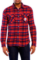 Superdry Milled Long Sleeve Flannel Shirt
