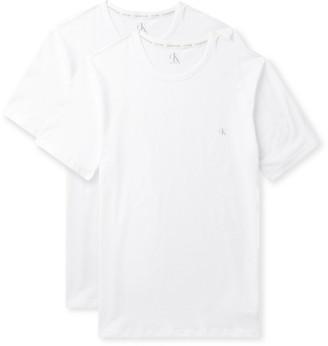 Calvin Klein Underwear Two-Pack Logo-Print Stretch-Cotton Jersey T-Shirts