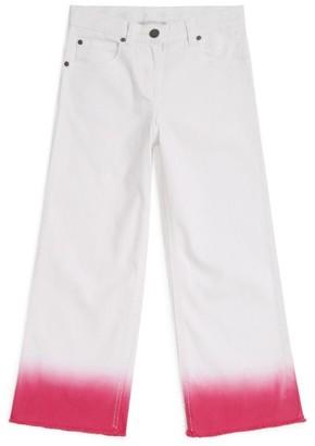 Stella McCartney Dipped Hem Flare Jeans