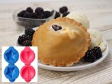 Tovolo Star and Heart Petite Pie Mold Set
