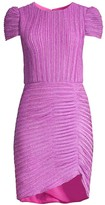 Shoshanna Leanna Pleated Ruched Dress