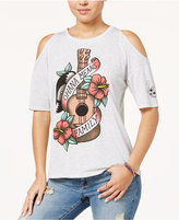 Disney Juniors' Ohana Means Family Cold-Shoulder T-Shirt