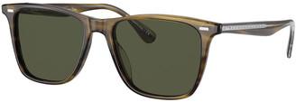 Oliver Peoples Men's Ollis Square Acetate Sunglasses